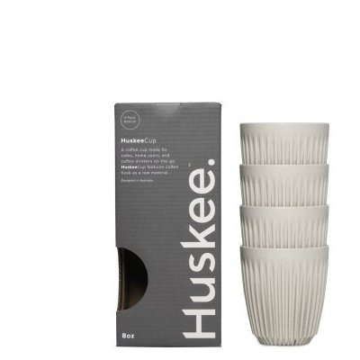 Huskee Cup Natural 4 x 236 ml (8 oz)