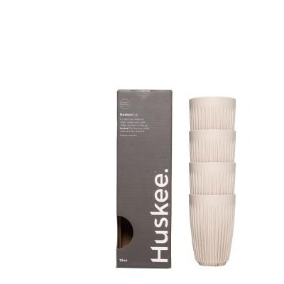 Huskee Cup Natural 4 x 355 ml (12 oz)
