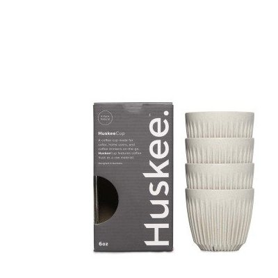 Huskee Cup Natural 4 x 177 ml (6 oz)