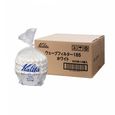 KALITA WAVE #185 FILTER PAPER (100 PIECES)