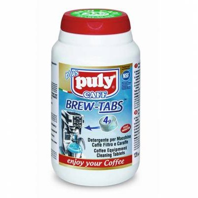 PULY CAFF BREW TABS FILTER COFFEE MACHINE CLEANING