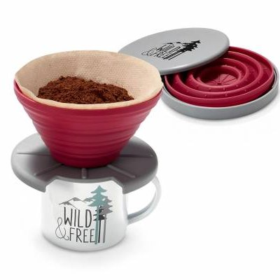 FOLDABLE SILICON COFFEE FILTER